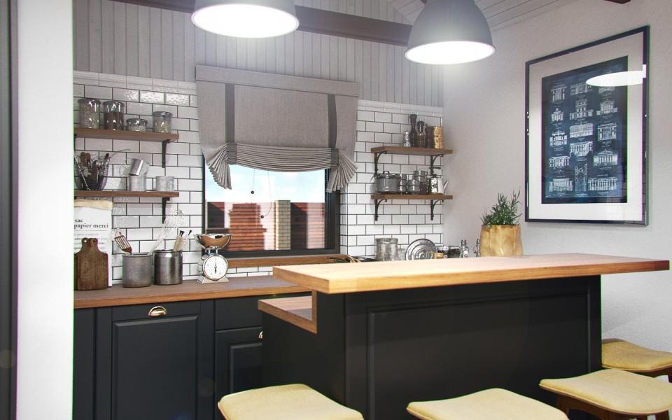 Дизайн интерьера гостевого дома