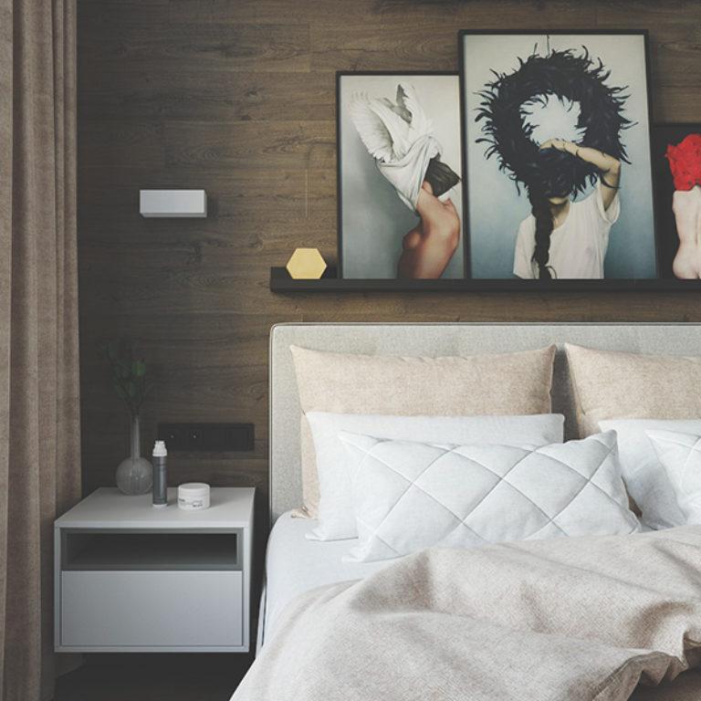 THOTY - Квартира с розовой спальней